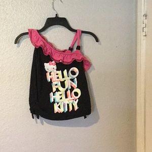 Child's blouse. Hello Kitty.